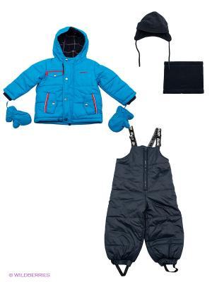 Комплект одежды Gusti. Цвет: синий, темно-синий