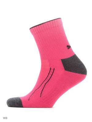 Носки PUMA CELL TRAIN SHORT SOCK 2. Цвет: фуксия