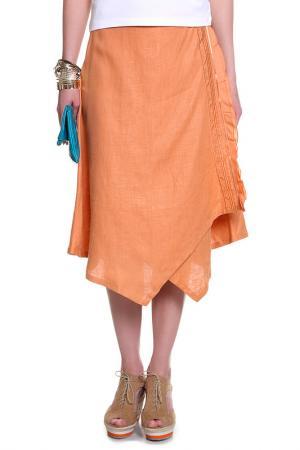 Юбка Riani. Цвет: оранжевый