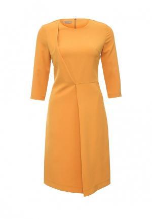 Платье D.VA. Цвет: оранжевый