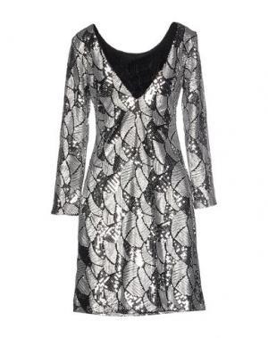 Короткое платье DRY LAKE.. Цвет: серебристый
