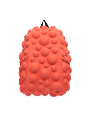 Рюкзак Bubble Full, цвет NEON оранжево-персиковый MadPax. Цвет: оранжевый