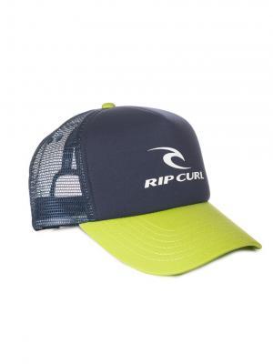 Кепка  RC CORPORATE TRUCKER Rip Curl. Цвет: черный,светло-желтый