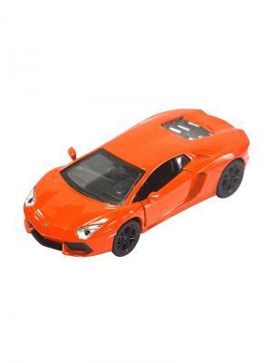 Машинка Инерционная Lamborghini LP-700, Оранжевая (1:41-1:32) (PS-0616308-R) Pit Stop. Цвет: оранжевый