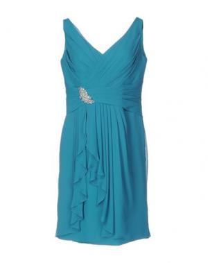 Платье до колена VENUS. Цвет: бирюзовый