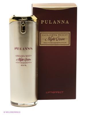Мульти-регенирирующий ночной крем - Night Cream Multu-Regeneration, 40 г PULANNA. Цвет: коричневый