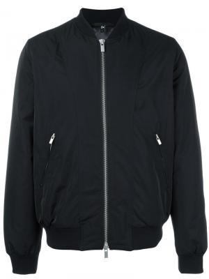 Классическая куртка бомбер Blk Dnm. Цвет: чёрный
