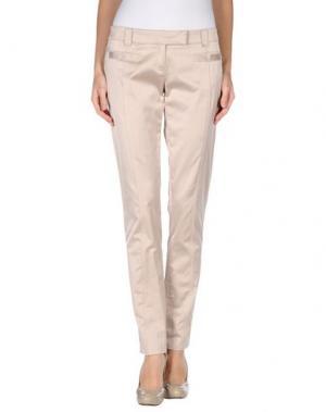 Повседневные брюки SCRUPOLI. Цвет: песочный