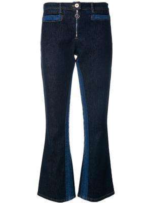 Расклешенные джинсы Courrèges. Цвет: синий