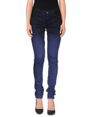 Повседневные брюки RED SOUL. Цвет: темно-синий