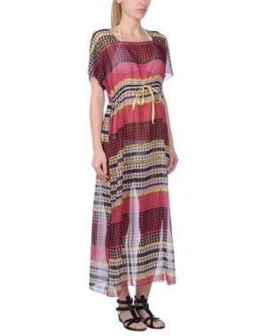 Пляжное платье BLUGIRL BLUMARINE BEACHWEAR. Цвет: фуксия