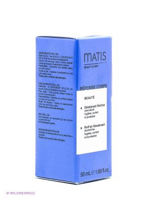 Шариковый дезодорант, 50 мл Matis. Цвет: прозрачный