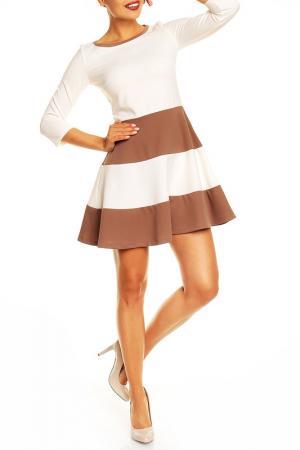 Платье Karen. Цвет: белый