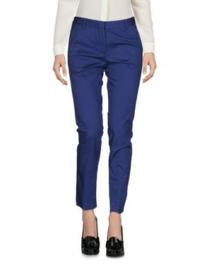 Повседневные брюки MAURO GRIFONI. Цвет: грифельно-синий