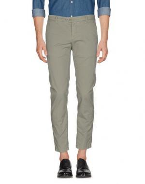 Повседневные брюки TELERIA ZED. Цвет: зеленый-милитари