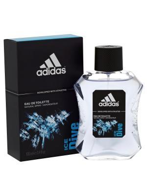 Ice Dive edt 100 ml Adidas. Цвет: голубой, черный