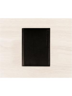 Бумажник водителя, c отделением для купюр, Black Domenico Morelli. Цвет: черный