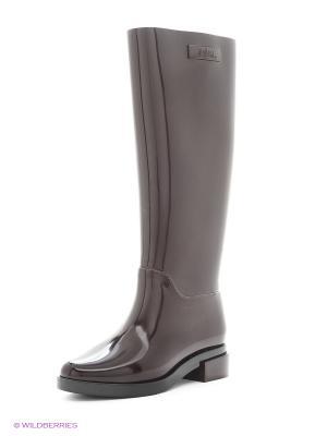 Резиновые сапоги Melissa. Цвет: коричневый