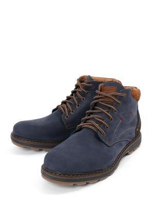Ботинки Tofa. Цвет: синий