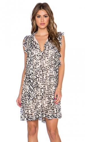 Платье omer NUE 19.04. Цвет: коричневый