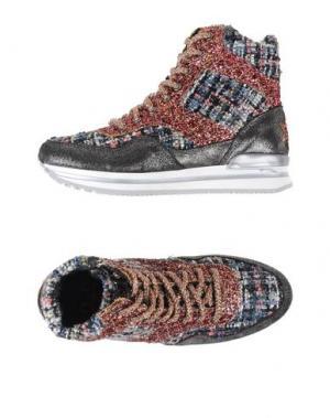Высокие кеды и кроссовки 2STAR. Цвет: пурпурный