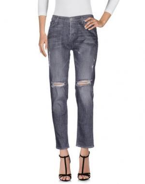Джинсовые брюки HUDSON. Цвет: серый