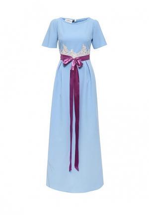 Платье Diana Pavlovskaya. Цвет: синий