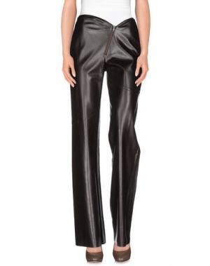 Повседневные брюки NUDE. Цвет: темно-коричневый