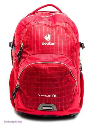 Рюкзак Deuter School Ypsilon. Цвет: красный, темно-серый
