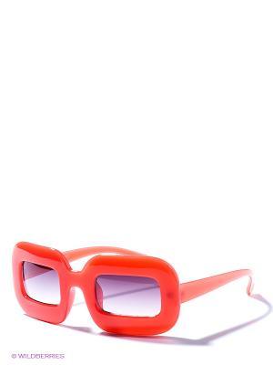 Солнцезащитные очки To be Queen. Цвет: коралловый