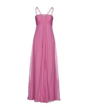 Длинное платье ROBERTA SCARPA. Цвет: розовый
