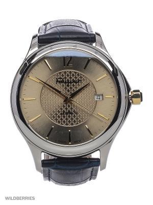 Часы Salvatore Ferragamo. Цвет: серебристый, синий