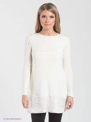 Платье-туника Lynne. Цвет: молочный