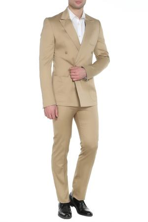 Костюм: пиджак, брюки GF FERRE. Цвет: золотой
