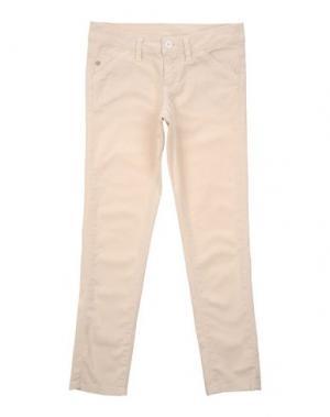 Повседневные брюки MANILA GRACE DENIM. Цвет: слоновая кость