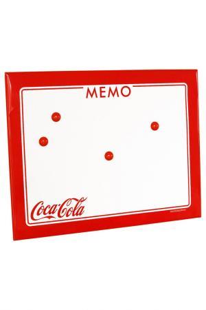 Доска с магнитами 35x0,6x46 Bizzotto. Цвет: белый, красный