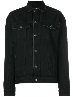 Джинсовая куртка California Filles A Papa. Цвет: чёрный