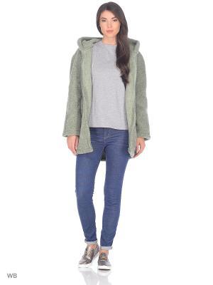 Куртка ALWERO. Цвет: зеленый
