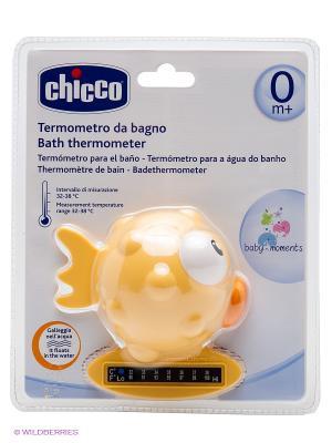 Термометр для ванны CHICCO. Цвет: желтый