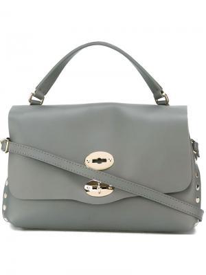 Small tote bag Zanellato. Цвет: серый