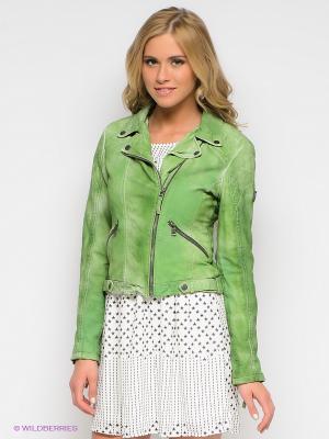 Куртка Mauritius. Цвет: зеленый