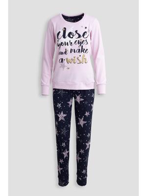 Пижама Extreme Intimo. Цвет: темно-синий, розовый, серый