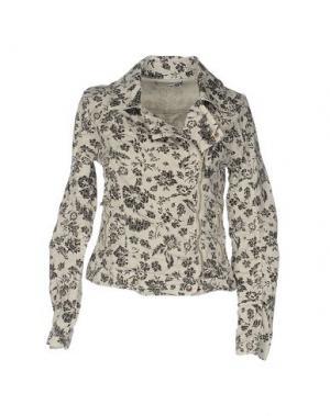 Куртка ANIYE BY. Цвет: слоновая кость