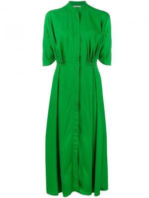 Платье мини Moya Emilia Wickstead. Цвет: зелёный