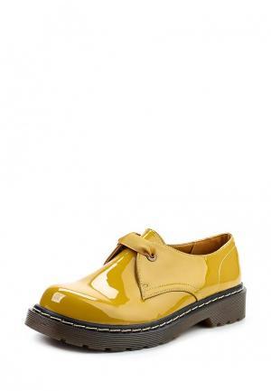Ботинки Super Mode. Цвет: желтый