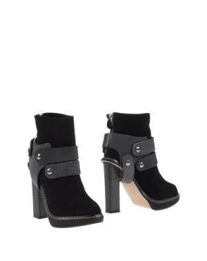 Полусапоги и высокие ботинки CHRISSIE MORRIS. Цвет: черный