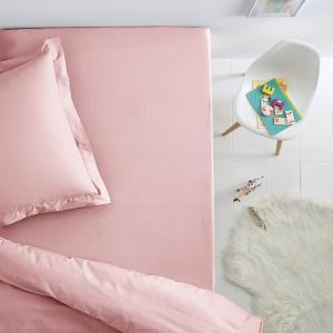 Натяжная простыня из джерси 100% хлопок для детской кровати SCENARIO. Цвет: антрацит,белый,бледный сине-зеленый,голубой бирюзовый,нежно-розовый,серый жемчужный
