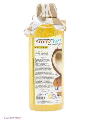 Масло жидкое для тела Кокос, 350 мл АРОМАДЖАЗ. Цвет: светло-желтый