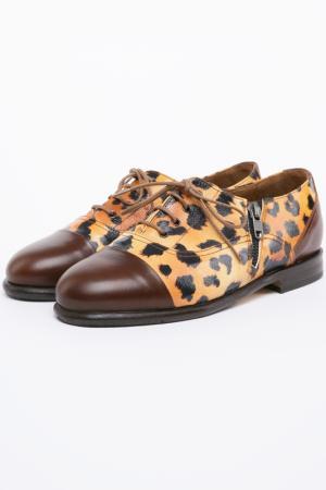 Ботинки Bouton. Цвет: леопардовый