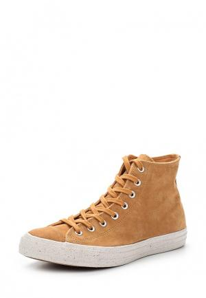 Кеды Converse. Цвет: коричневый